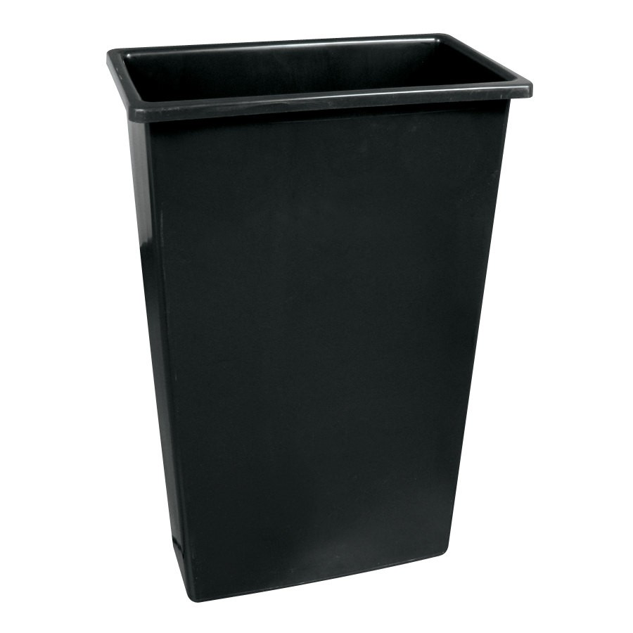 Slim Jim Waste Container (Black)