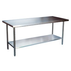 "Stainless Steel Work Table SG 120""L X 24"" W"