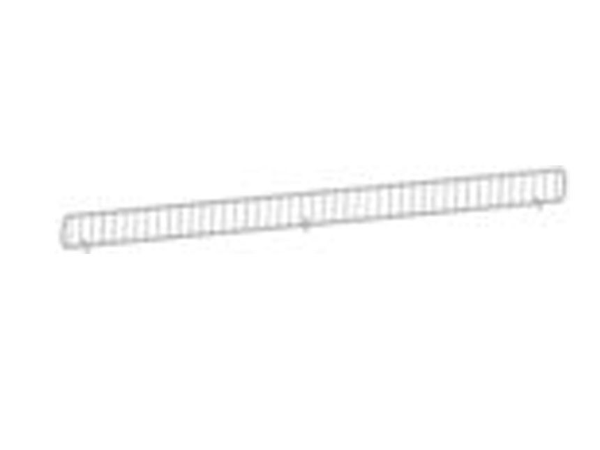 Hill Fence Guard - White