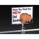 "3-1/2""x5-1/2"" Clip on Sign Protector"